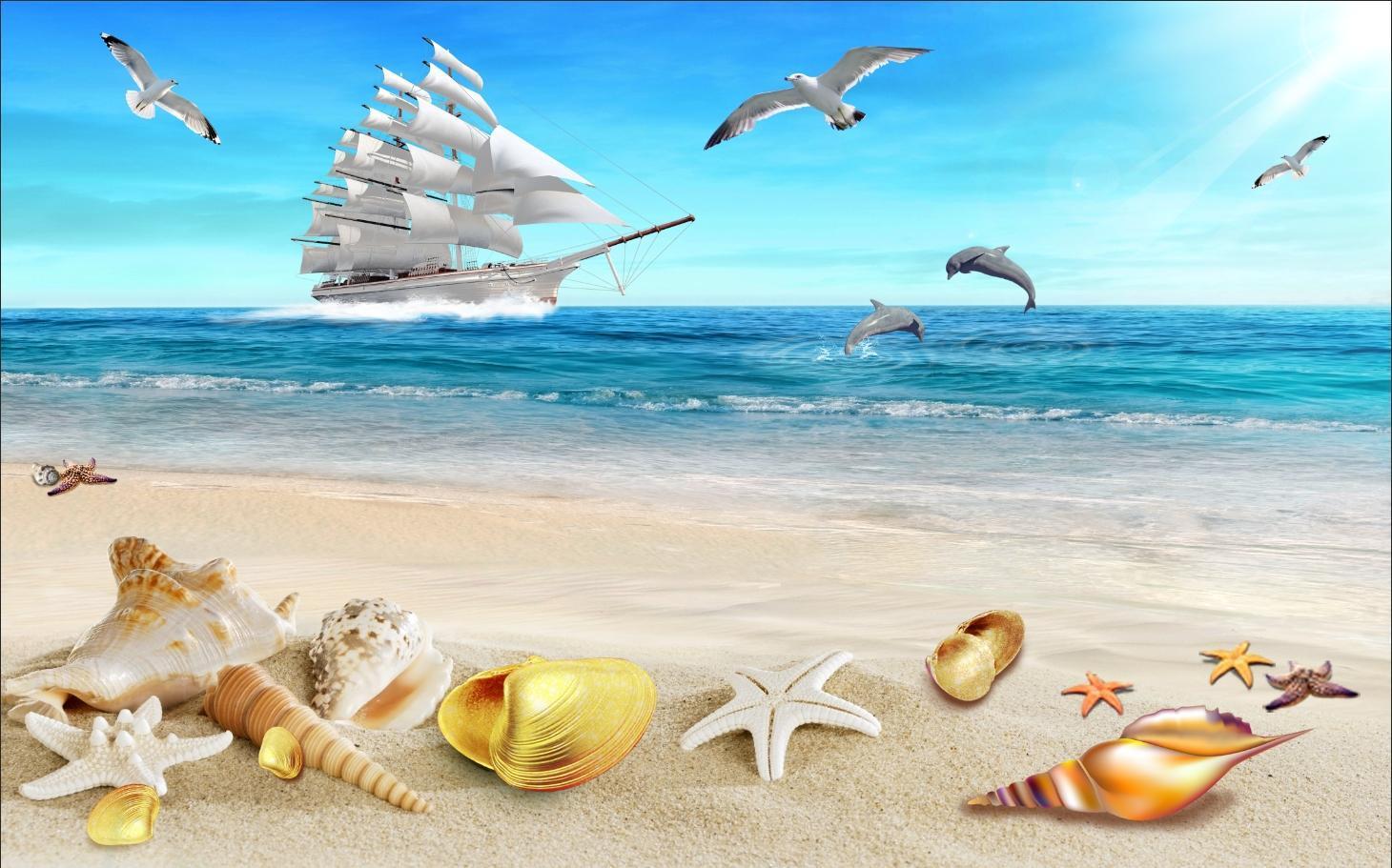 Картинки моря для визитки